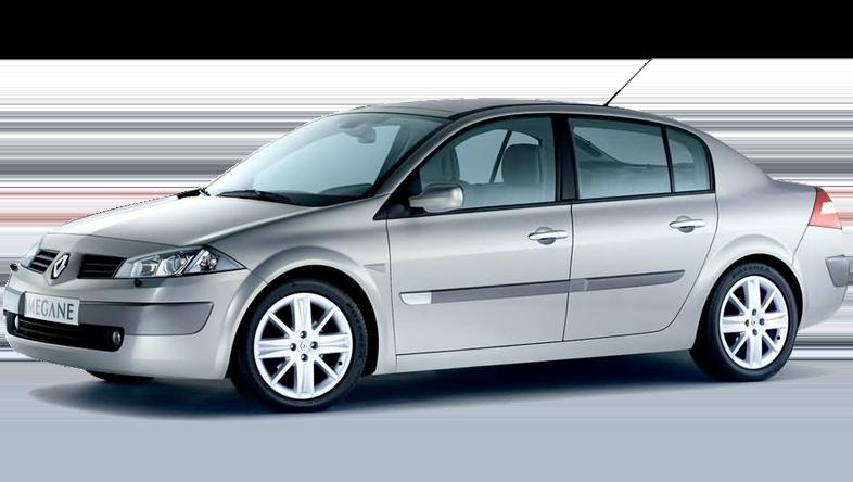 Renault Megane Limousine bei Europeo Cars. Für 190 € pro Woche können Sie ein Fahrzeug mit Automatikschaltung mieten.