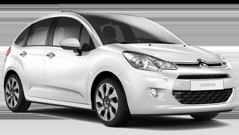 Offre de 152€/semaine pour louer une Citroën C3 en Crète. Voiture du groupe C d'Europeo Cars.