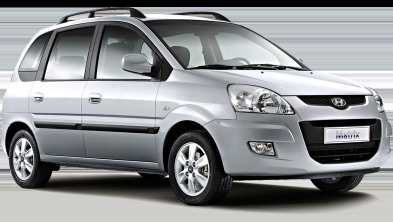 Hyundai Matrix d'Europeo Cars. Offre spéciale à 178€/semaine. Location voiture groupe E en Crète.