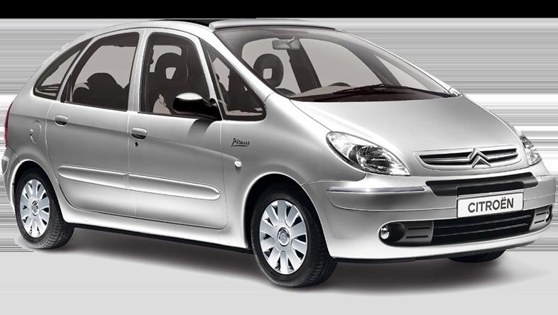 Citroen Picasso station wagon, offerta a €199 alla settimana. Noleggia un'auto a Creta a un prezzo conveniente.