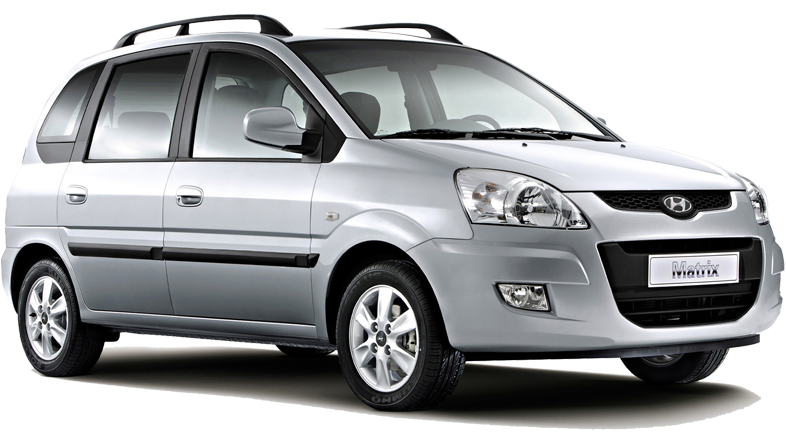 Hyundai Matrix z Europeo Cars. Oferta specjalna 178 € za tydzień wynajmu auta z grupy E na Krecie.