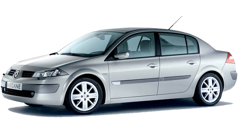 Renault Megan sedan w Europeo Cars. 190 €/tydzień za auto z automatyczną skrzynią biegów na Krecie