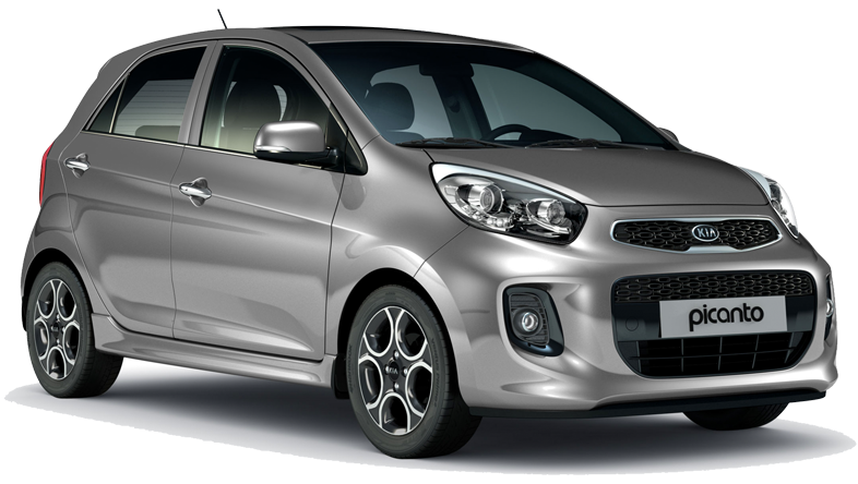 Kia Picanto hire car offer for special economy price of €129 per week to rent a Group B car in Crete