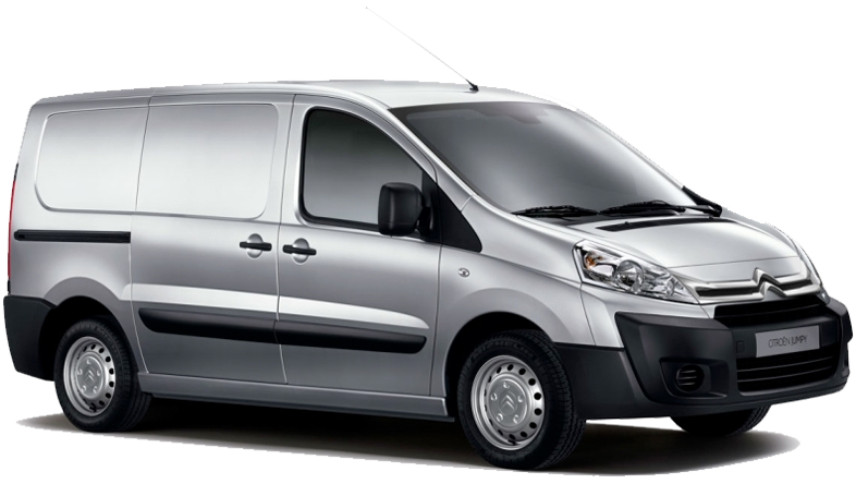 Citroen Jumpy from Europeo Cars rentals. Rent a 7 seat mini bus car in Crete for €240 per week offer