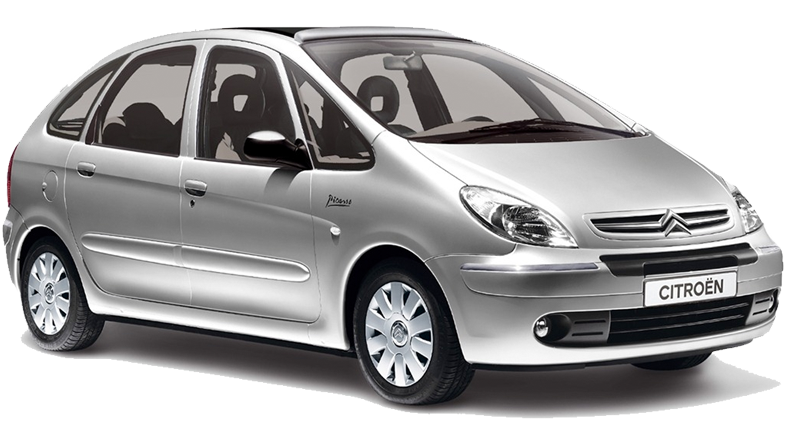 Citroen Picasso station wagon offer for €199 per week. Rent a car in Crete for an economy price.