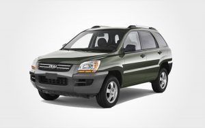 Kia Sportage with 5 seats and air conditioning. Rent this car in Crete for an economy price.