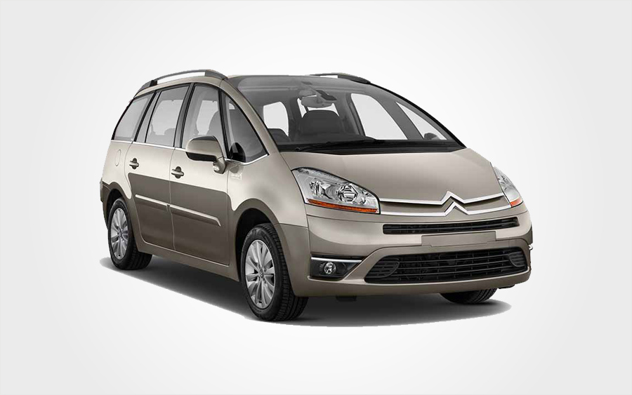 Citroen C4 Picasso for hire. Rent a car in Crete for an economy price.